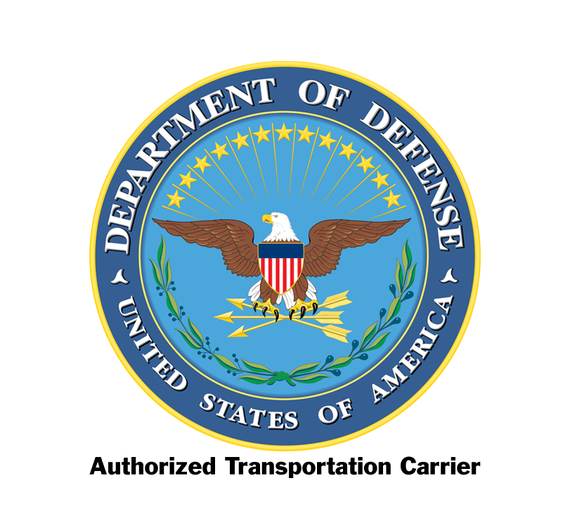 Authorized Transportation provider of Department of Defense